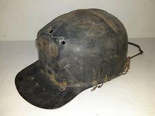 New listing Vintage Msa Comfo Cap Low Vein Fiberglass Hard Hat Coal Miner tiger stripe