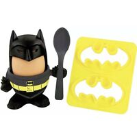 Batman Egg Cup Topper & Toast Stamp Cutter Spoon Breakfast Set