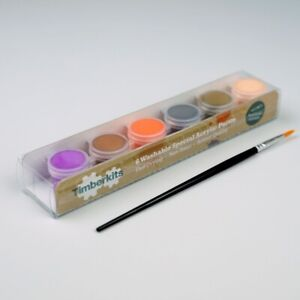 Timberkits Special Acrylic Paint Set - The Perfect Accessory for Your Model