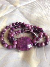 lola rose Alina bracelet in purple fossil jasper - new