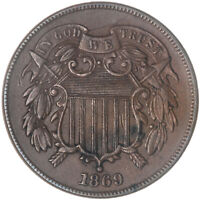 1869 Two Cent Coin Extra Fine See Pics G067
