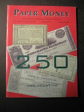 PAPER MONEY  Journal Society of Paper Money Collectors July/Aug 2007 magazine