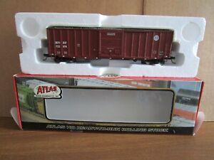 Atlas, HO, 1366, BNSF 50' Rib-Side Boxcar #722974, OB