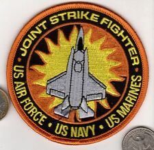 US Navy US Marine Corps US Air Force Joint Strike F35 Fighter Jet Squadron Patch