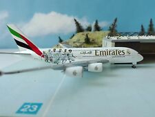 "Herpa Wings 529242  Emirates Airbus A380 ""Real Madrid"" 1:500 NEU"