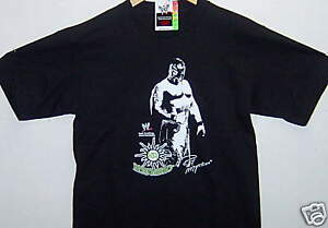*NWT* WWE LICENSED REY MYSTERIO T-SHIRT ADULT LARGE FREE SHIPPING!