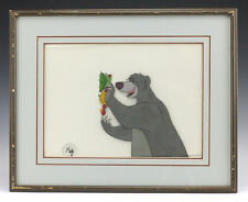 Disney Animation Cel - Baloo from The Jungle Book Authentication stamp