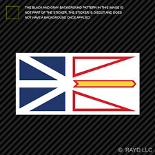 Newfoundland and Labrador Flag Sticker Self Adhesive Vinyl Canada nl province