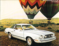 1977 Ford Mustang II 12-page Sales Brochure Catalog