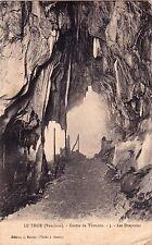 LE THOR grotte de thouzon 3 les draperies éd martin cliché bascou écrite 1918