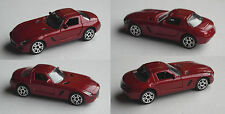 Majorette - Mercedes-Benz SLS weinrotmet. Farbvariante
