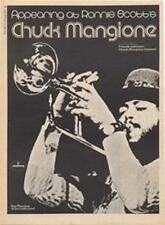 Chuck Mangione Friends & Love LP concert advert Time Out cutting 1972