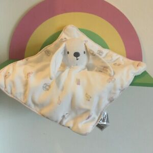 Mothercare BUNNY RABBIT  Quilted Blankie Comforter Soft Toy