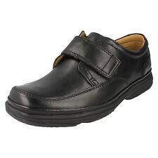 Clarks Swift Turn - Black Leather Mens Shoes 8 UK H 5051038328807