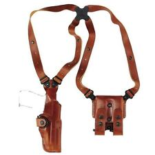 "GALCO VHS212 VHS LEATHER VERTICAL SHOULDER HOLSTER - 1911 5"" - RIGHT HAND - TAN"
