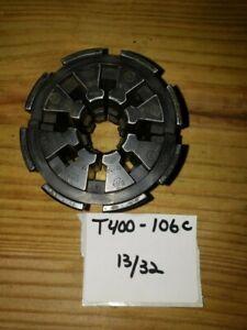 "WEATHERHEAD HYDRAULIC HOSE CRIMPER DIE SET # T400-106C  (13/32"")"