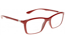 9424ad422e Authentic RAY-BAN 7036 - 5441 Eyeglasses Matte Red 55MM  NEW