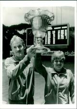 1975 WOMENS WORLD SWIMMING CHAMPIONSHIP HELD WALES  - Vintage photograph 3810875