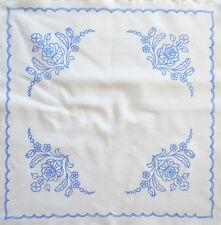 "Kalocsa  pattern print from Hungary New square 18.5''x 18.5"" table top DIY b"