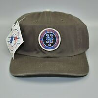 New York Mets Baseball Logo Athletic MLB Vintage 90's Strapback Cap Hat - NWT