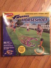 """NEW, VINTAGE 1998, WHAM-O, """"FRISBEE HORSESHOES"""" SET, FACTORY SEALED..."""