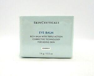 SkinCeuticals Eye Balm Rich Balm Triple Action Corrective Technology ~ 14 g