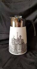Vintage Corning Ware Renaissance 9 Cup Stove Top Coffee Pot Percolator Orig Box