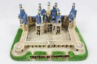Chateau de Chambord Schloss Loire Poly Modell Frankreich Souvenir