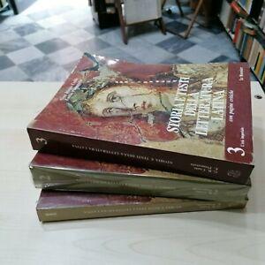 Conte Storia e testi della Letteratura latina,in tre volumi completa