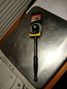 """Husky 3/8"""" Drive 100 Position Low Profile Long Handle Ratchet 1001-383-378"""