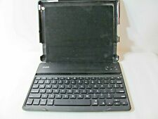 ZAGG iPAD FOLIO CASE WITH KEYBOARD~USED BUT IN GREAT CONDITION~BLACK~NO CORDS