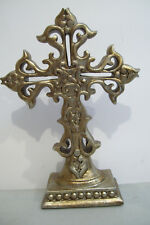 """Shimmering Crystals Church Gift Deco 12"""" Tall Cross By Michael Stores Inc Texas"""