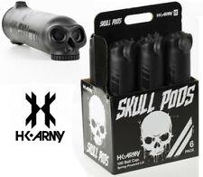 Pack 6 pots Paintball HK ARMY Skull Noir