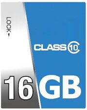 Tarjeta de memoria 16GB Class 10 SDHC para cámara Canon EOS 1000d