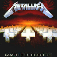 Master Of Puppets - Metallica CD Sealed ! New !
