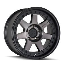 "17"" Mayhem Prodigy 8300 Black Dark Tint Wheel 17x9 5x4.5-6mm Ford Jeep 5 Lug Rim"