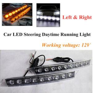 12V Left & Right GM Car LED Steering Warning Function Lamp Daytime Running Light