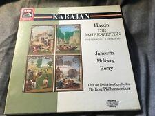 SEALED classical 2LP: HAYDN The Seasons - KARAJAN BPO HMV EMI DMM DIGITAL STEREO