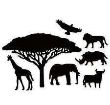 Wild Animals Tree Border Metal Cutting Dies Scrapbooking Cuts making stencil Die