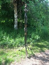 Antique green and gold wrought iron lamp ready to rewire