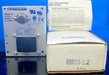 International Power IHB24-1.2 24 VDC Power Supply Open Frame Series NOS In Box