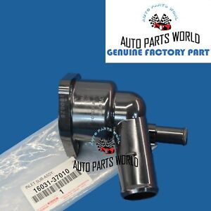 GENUINE OEM TOYOTA PRIUS CT200h 1.8L 4CYL WATER INLET W/THERMOSTAT 16031-37010