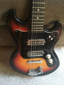 vintage Global Electric Guitar Double pickup | Made in Japan | Teisco