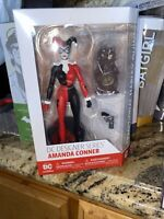 "DC COMICS Designer Series TRADITIONAL HARLEY QUINN 6.75"" Figure AMANDA CONNER!"