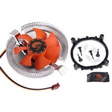 Cooler Ventilador TéRmico 7 Hoja La CPU De Intel LGA 775 1155 1156 AMD 754 AM2