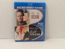 Disclosure/Fatal Attraction (Blu-ray Disc, 2013, 2-Disc Set)  Michael Douglas