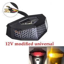 12V Motorcycle Cafe Racer LED Rear Tail Light Brake Taillight Stop Lamp 5 in 1