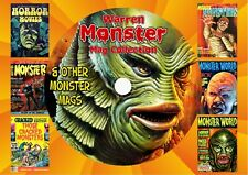 Warren Monster Mag Collection On PC DVD Rom (CBR FORMAT)