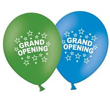 "Grand Opening 12"" Printed Latex Assorted Balloons New Shop Store Pack of 25"