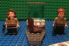 Custom Lego Star Wars Vii General Leia Staff Officers with Control Consol